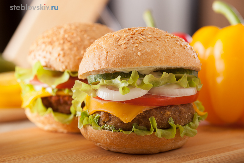 hamburger, food фотограф