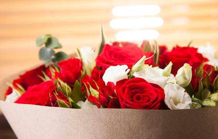 Съемка букетов цветов